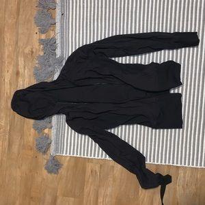 Black Lululemon jacket/ 8